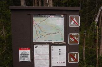 The Trailhead post
