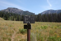 Turn right at junction to Big Horn Peak