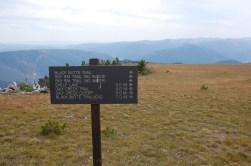 Turn east for Big Horn Peak.