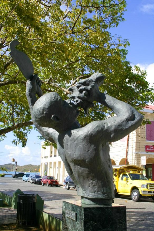 Freedom Statue St Thomas