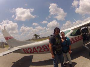 Miami Sky Diving Plane