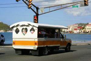 Island Tour Bus