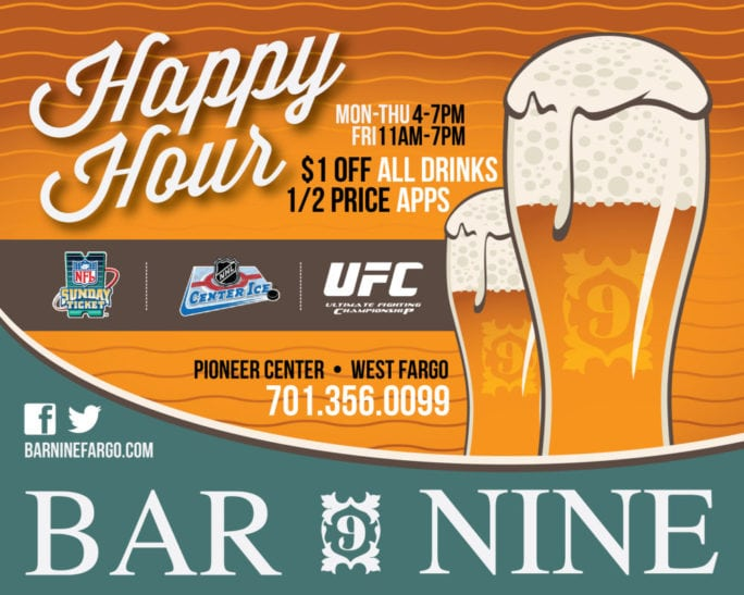 Bar Nine | Indoor Billboards | Off The Wall Advertising