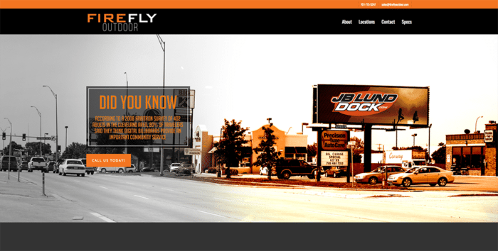 Firefly Outdoor | Websites | Off The Wall Advertising