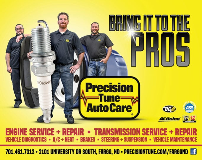 Precision Tune Auto Care | Indoor Billboards | Off The Wall Advertising