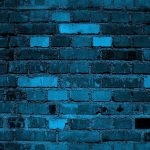Brick Background Dark Teal