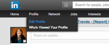 Edit LinkedIn Profile