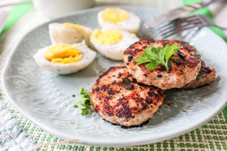 Gluten free Turkey Breakfast Sausages