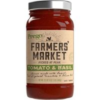Prego Farmers' Market Sauce, Tomato & Basil, 23.5 oz.