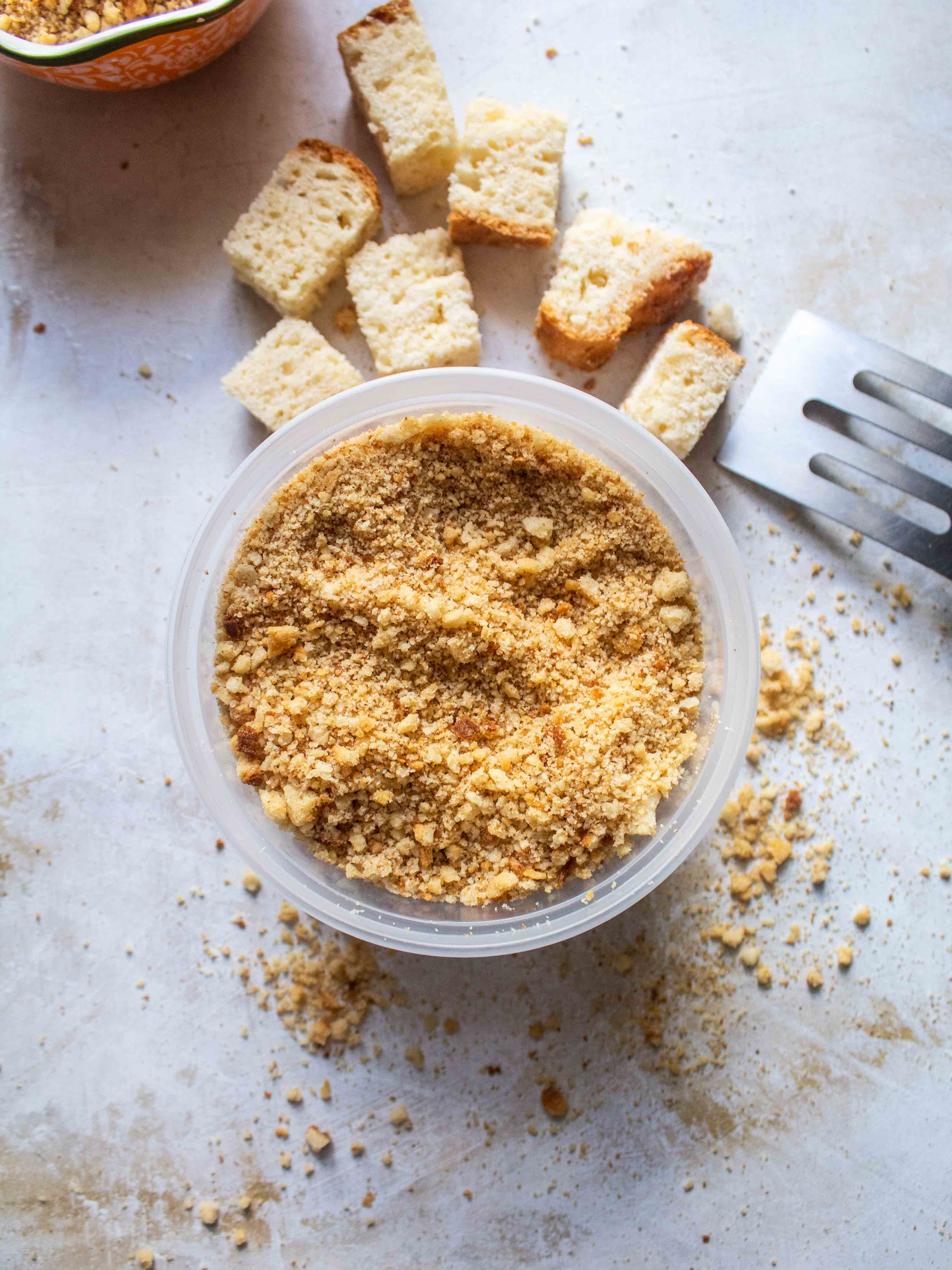 Gluten Free Bread Crumbs | Off The Wheaten Path