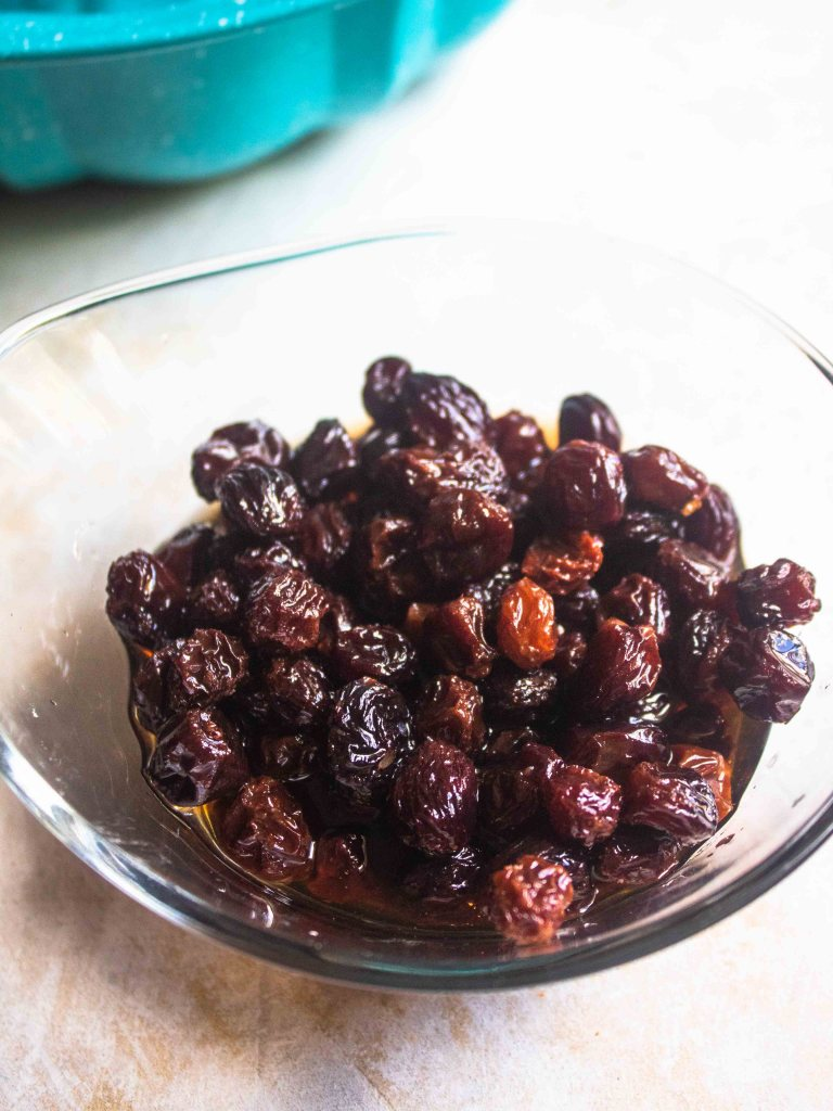 rum soaked raisins