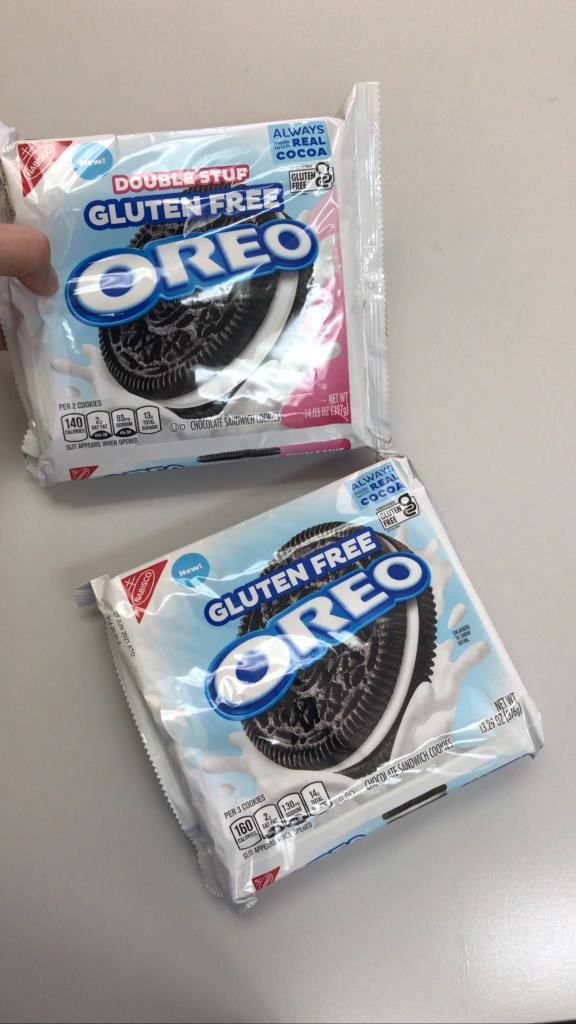 Gluten Fee Double Stuff Oreos