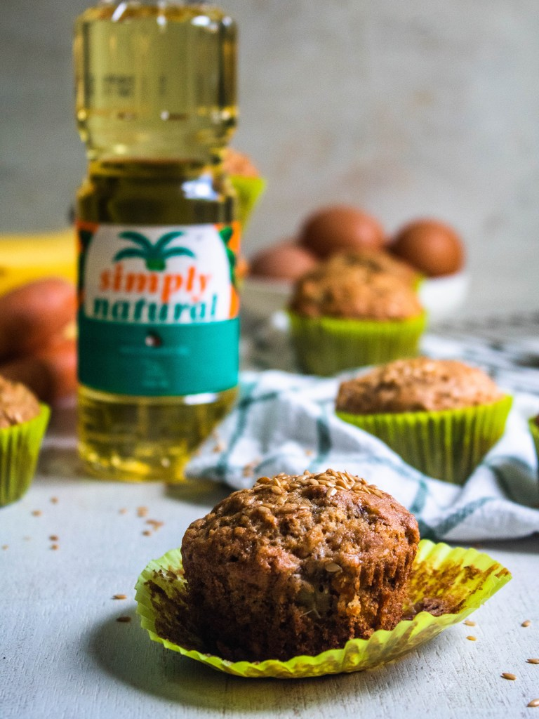 muffins with coconut oil