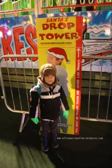 Not tall enough for the Christmas Rides copy