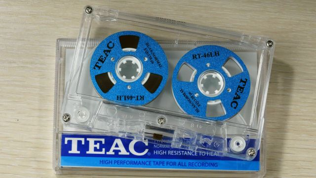 TEAC cassette tape for creating running mixed tapes
