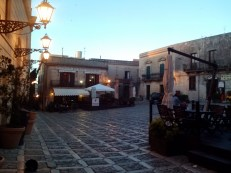A piazza in Erice.