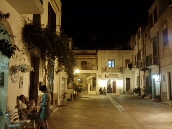This piazza used to be the center of San Vito Lo Capo.