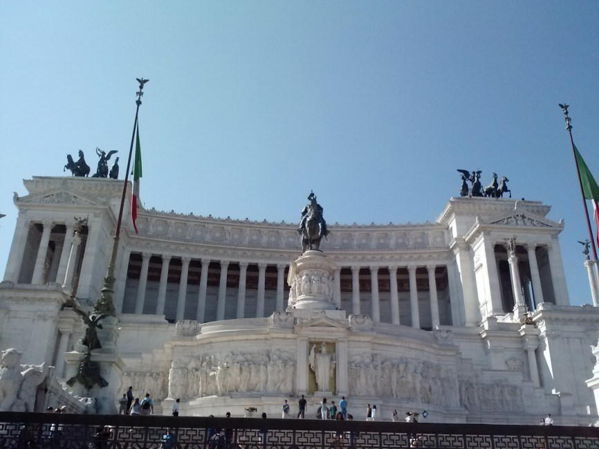 Welcome to Piazza Venezia.