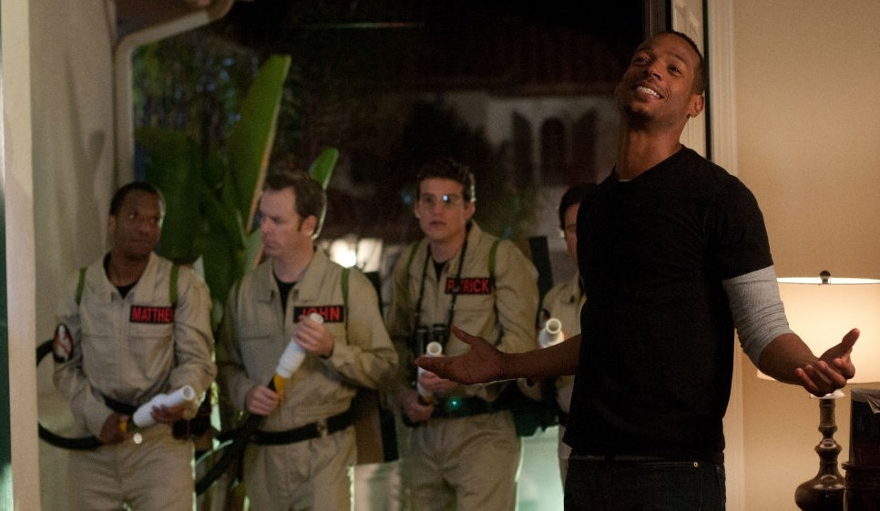 A Haunted House Marlon Wayans Ghostbusters