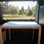 Homemade Astro Van Safari Camper Conversion Building Storage Spaces