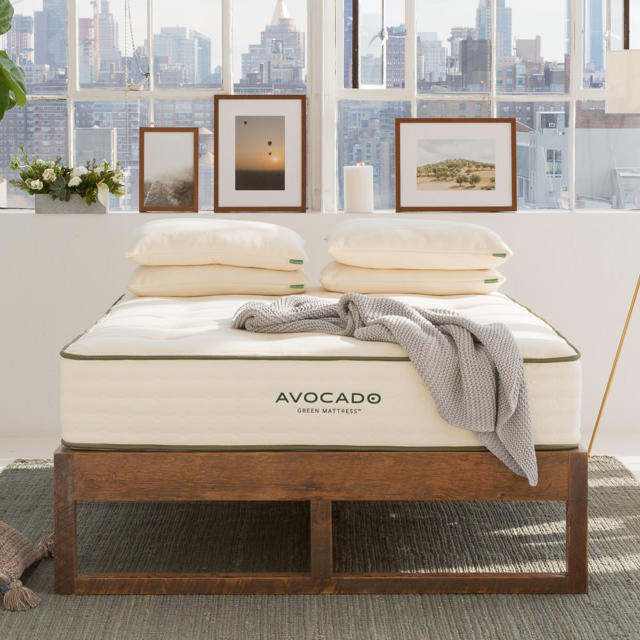 Need a vegan mattress to compliment your vegan bedding? Carbon-neutral company Avocado Mattress has one!