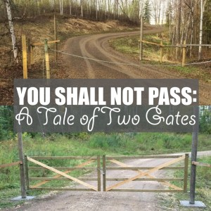 You Shall Not Pass: A Tale of Two Gates