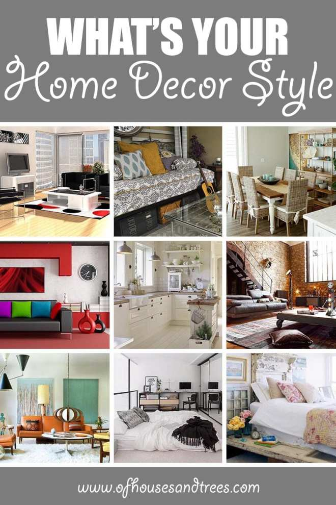 What's Your Home Decor Style   Is your home decor style Coastal or Contemporary? Scandinavian or Shabby Chic? Art Deco, Industrial, Mid-Century Modern, Traditional?