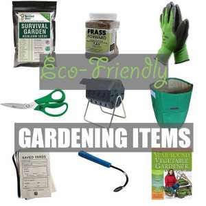 Eco-Friendly Gardening Items