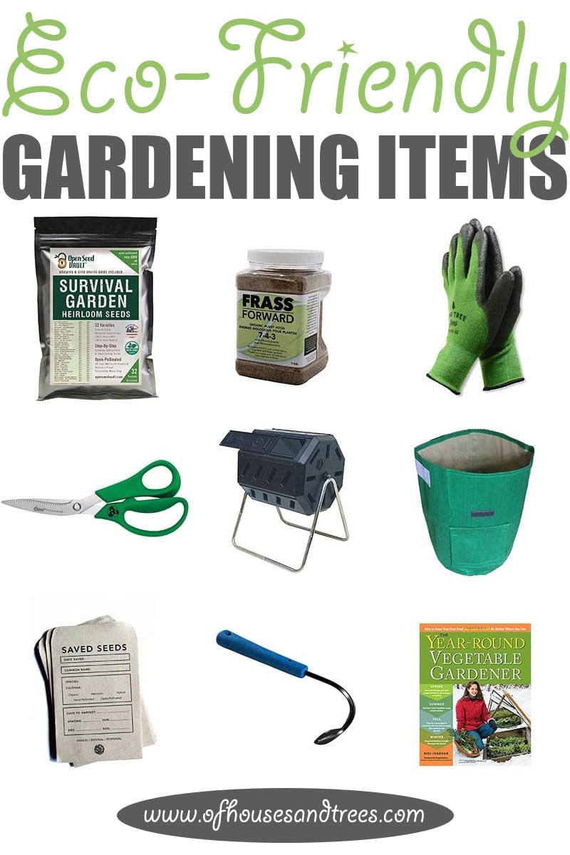Eco-Friendly Garden   'Tis the season! For gardening that is. Here are nine eco-friendly garden items - from seeds to shears - that every green thumb needs.