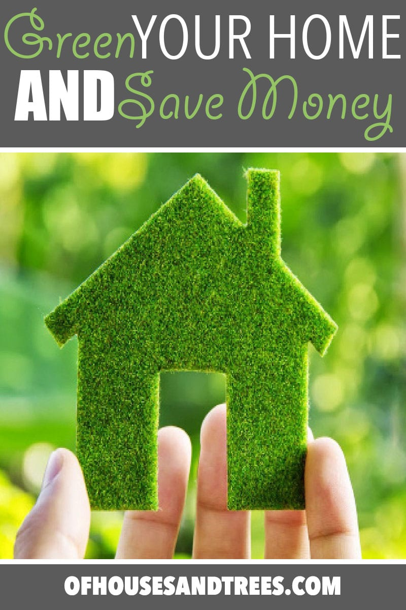 Green Your Home | Here are five ways you can green your home and save a few dollars all at the same time, including shopping secondhand, cleaning with vinegar and... sharing!