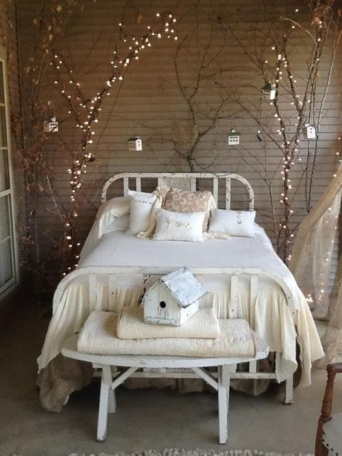 String lights are an eco-friendly lighting staple and can be used almost anywhere to add a magical glow.