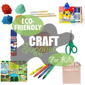 Eco-Friendly Craft Supplies for Kids