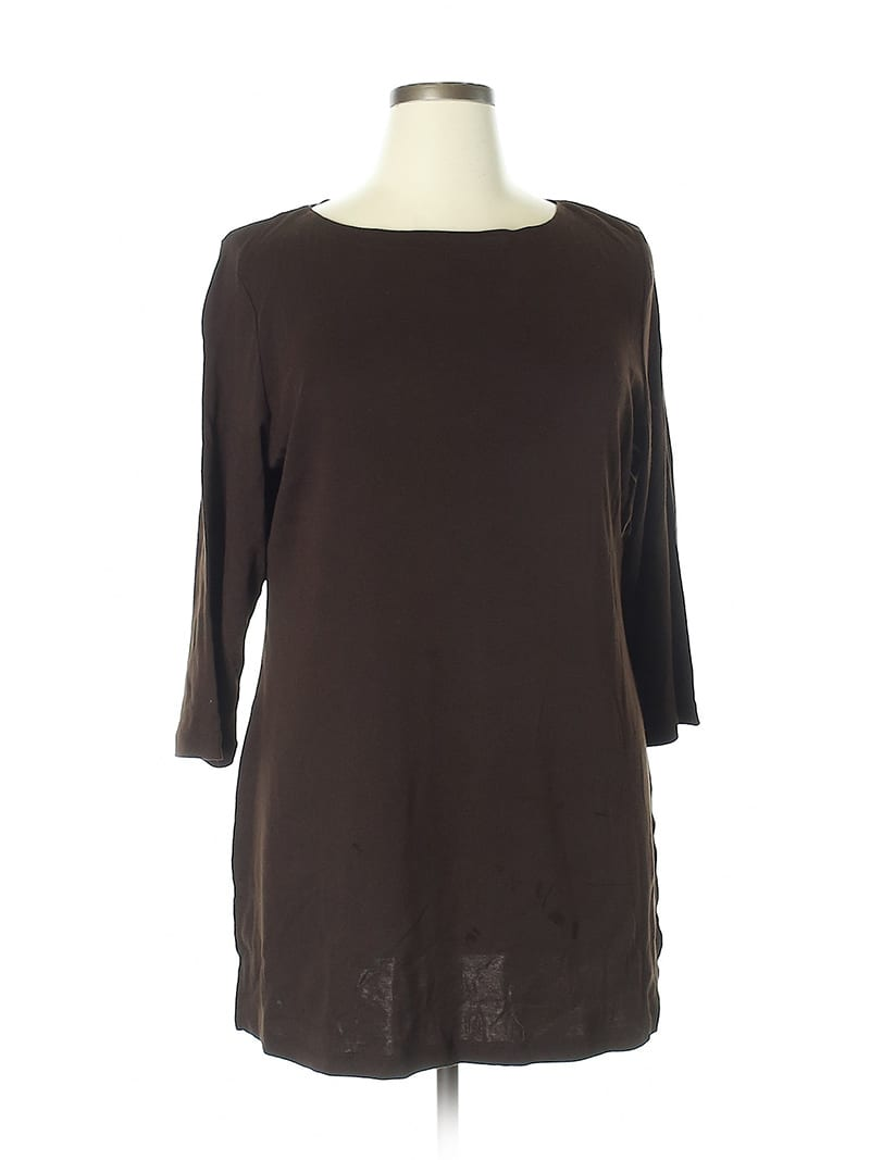Create customized second hand Halloween costumes with items you can add to your regular wardrobe and wear again! Like this brown tunic, which would be perfect for an elf costume.