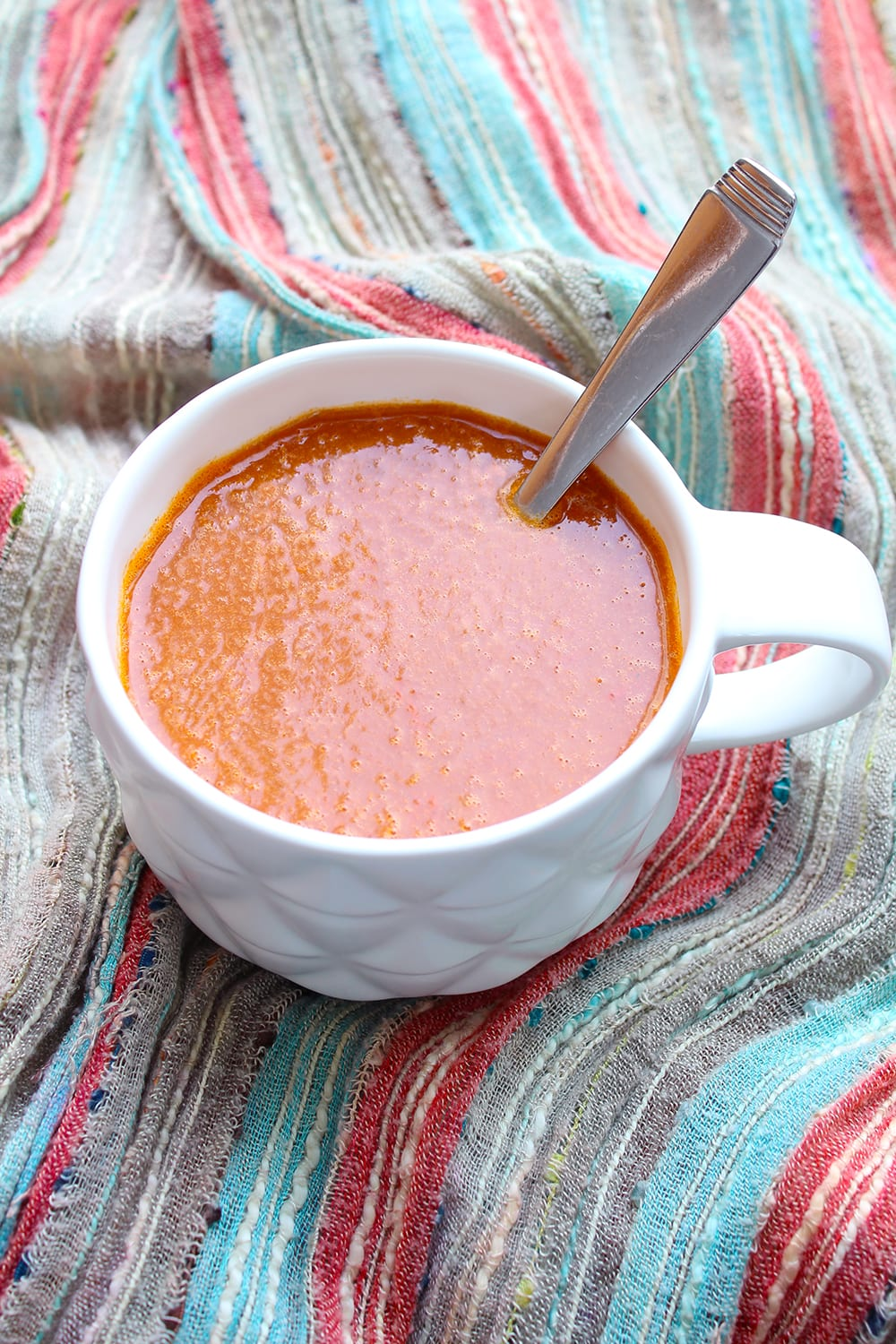 This basic tomato soup recipe is a great base for other soups. Try adding black beans, onions, peppers, corn and cumin to turn it into a Southwest style soup. You can also add plain rice or macaroni to make it a bit heartier!