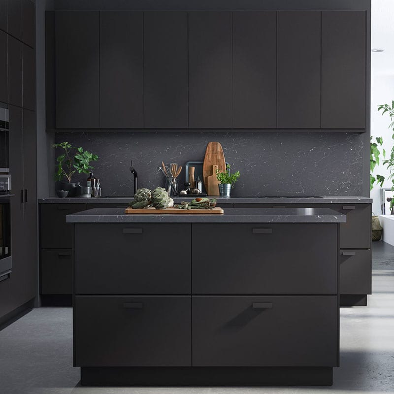 Ikea has come out with the perfect cabinets for an eco-friendly kitchen - they're made from recycled plastic bottles!