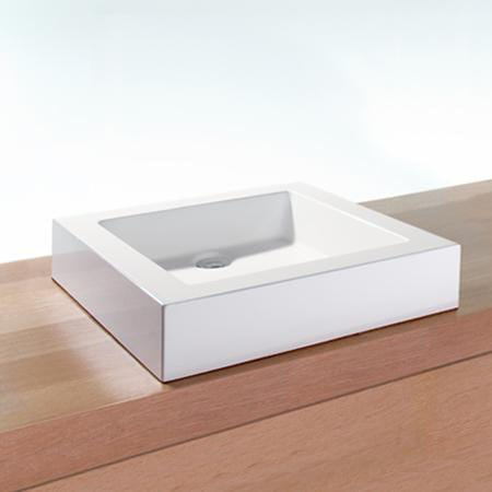 Looking to create an eco-friendly bathroom? It's the perfect opportunity to green everything - including your tub, sink, faucet, vanity and toilet! The company WETSTYLE makes their sinks out of a trademarked material composed of soy and mineral stone!