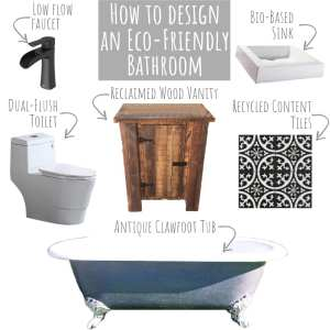 How to Design an Eco-Friendly Bathroom