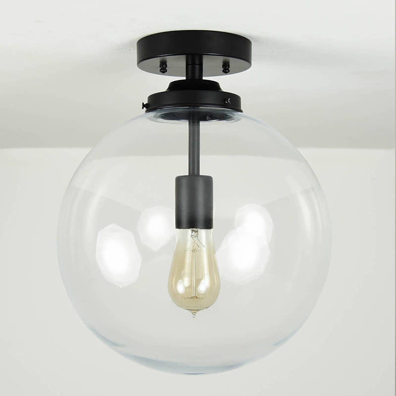 Looking for modern farmhouse light fixtures? Well, these five beauties are the real deal as they were all handmade! Like semi-flush ceiling light by IlluminateVintage.