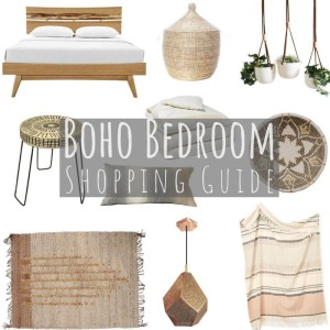 Boho Bedroom Shopping Guide