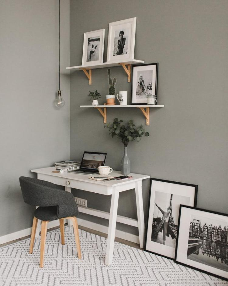 Want to create a minimalist home office like this one by BelkinHome? Check out this shopping guide on Of Houses and Trees - featuring eco-conscious home office decor items from Etsy.