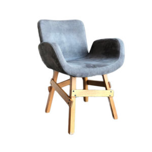 Creating a space that helps you feel peaceful and productive is the key to work-at-home success. And home office decor items like this upholstered chair will do just that!