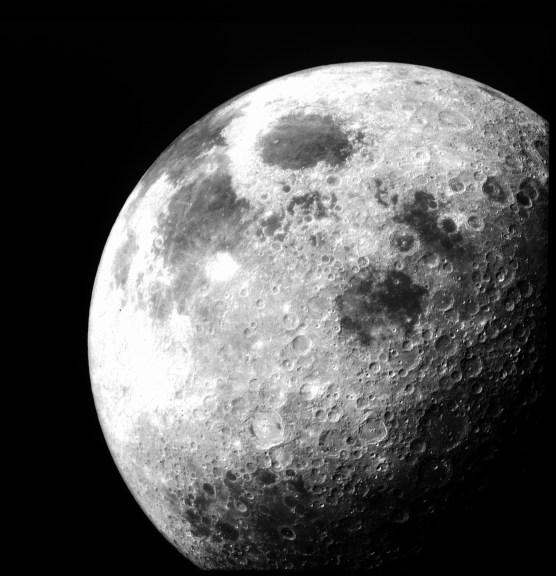 Quem nunca ouviu um conselho da lua? A Lua, da galeria de fotos da Nasa.