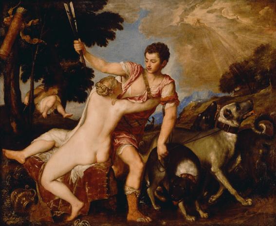 Afrodite (Vênus) e Adonis, óleo sobre tela de Tiziano Vecellio. Afrodite  Afrodite  Afrodite  Afrodite  Afrodite  Afrodite  Afrodite  Afrodite  Afrodite  Afrodite  Afrodite