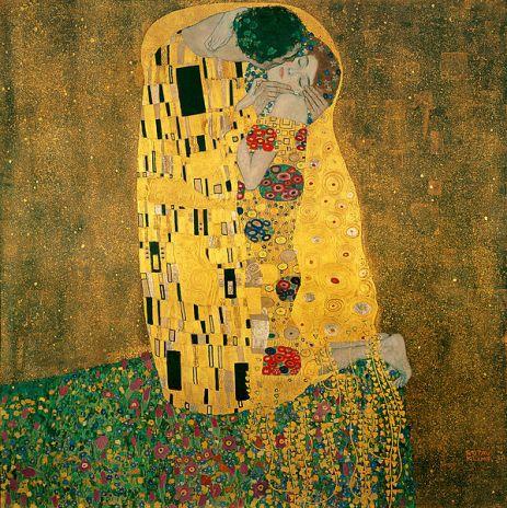 dia dos namorados - o beijo de Gustav Klimt - amor protegido - amor protegido