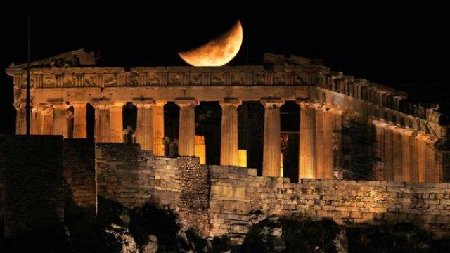 Pathernon. Atenas, Grécia. Imagem: Veja.