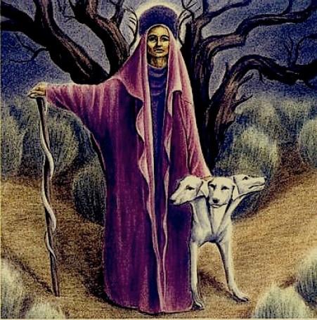 Hecate, de Hrana Janto. - Ritual de Hécate lua negra - ritual de hécate simples - ritual de hécate para sintonia com a magia