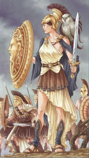 Athena - Universal Goddess Tarot by Maria Caratti & Antonella Platano