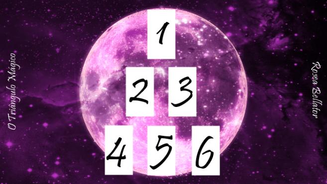 triangulo magico - método de jogar tarot triangulo magico - o triangulo magico - tarot triangulo magico