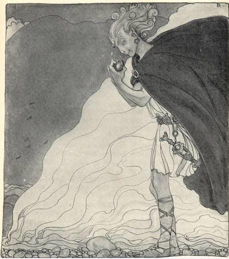 loki, imagem de john bauer