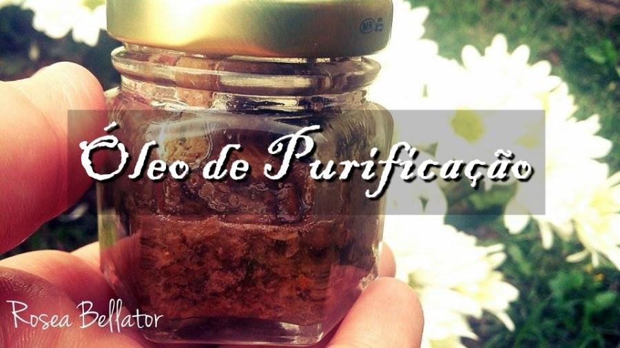 óleo de purificação
